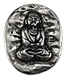 Azure Green Buddha Pocket Stone