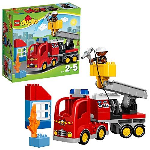 LEGO Duplo 10592 - Löschfahrzeug, Spielzeug für drei Jährige Kinder