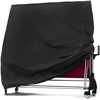 Heavy-Duty Weatherproof Table Tennis Table Cover Veranda Indoors/Outdoor Ping Pong Table Cover,Waterproof Dustproof Table ...