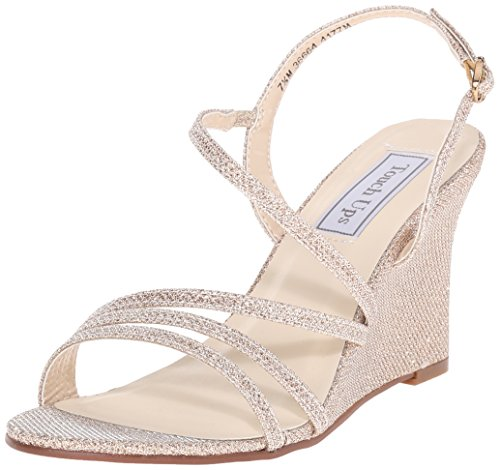 Touch Ups Women's Paige, Champagne Shimmer, 8 M US
