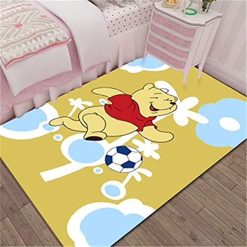 hhjxptst Teppich - Winnie The Pooh Mat Badezimmer Kind Junge Mädchen Flur Fußmatte Anti - Rutsch Teppich 60x90cm