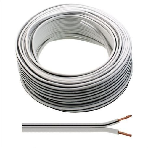 30m of Auline White Speaker Cable 13 Strand for Surround Sound Hifi Car Audio System