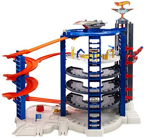 Diseñador De Pista Hot Wheels DWW96 Kit de construcción bucles y pistas conectable