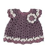 Sebra Puppenkleidung, Kleid mit Blumen, Pastel Lilac