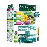 Santarome Bio - Programme Ultra Détox Bio | Complément Alimentaire Détox Globale | Programme en 3 étapes | 30...