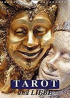 Tarot und Liebe (Wandkalender 2022 DIN A4 hoch): Mit dem Tarot durch das Jahr! (Monatskalender, 14 Seiten )