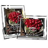 UMI. Essentials Cornice Foto in Vetro Portafoto 13 x 18 cm (Set di 2)