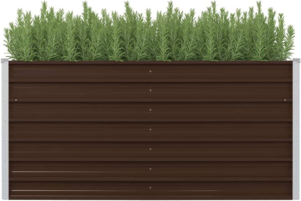 Raised Garden Bargain Bed Outdoor Metal Above for Ground Veg Box Opening large release sale Planter