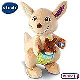 VTech Baby - Maman Kangou-Love et son bébé, peluche interactive pour bébé