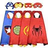 Easony Toys for 3-10 Year Old Boys, Fun Cartoon Superhero Capes for Kids Birthday Gifts Presents for...