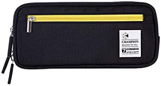 Large Capacity Pencil Case Student Pen Pencil Bag Case Holder Pen Organizer School Black