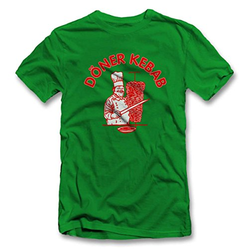 Doener Kebap T-Shirt Gruen-Green 2XL