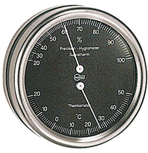 Barigo Thermo/Hygromètre Orion Cadran Noir