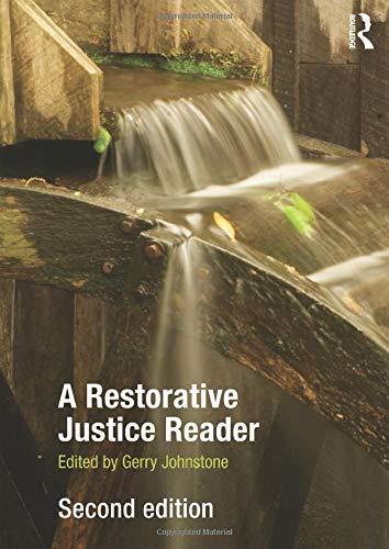 A Restorative Justice Reader