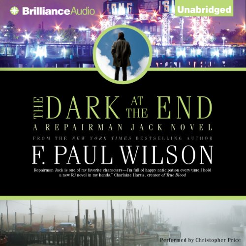 The Dark at the End audiobook cover art