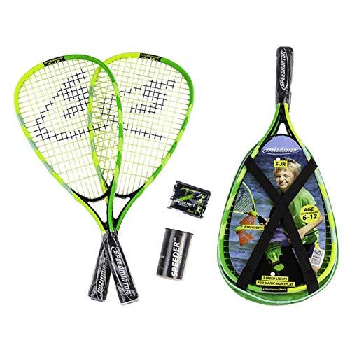 nobrand Speedminton Badminton Racket SJR Junior Set Designed for Playing Speed Badminton Wherever You are