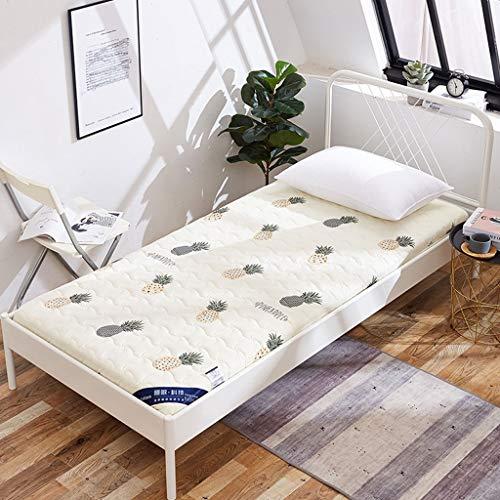 HLDBW Multifuncional futón Solo colchón Doble Plegable Dormir cojín de Estudiantes compartida Litera colchón Principal Habitación Sala Tatami Planta de Arrastre del bebé Mats