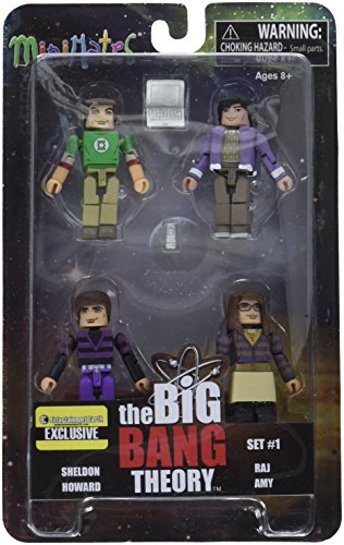The Big Bang Theory Minimates Set 1