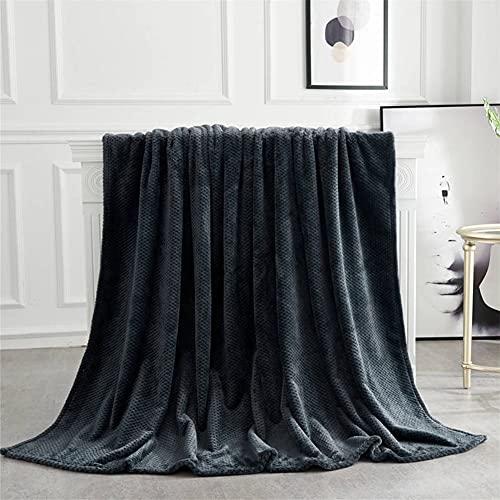 RYSF Soft Warm Coral Fleece Blanket Winter Sheets Bedspread Fuzzy Throw Blanket Upholstered Rug Bed Sofa Living Room (Color : B)