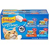Purina Friskies Wet Cat Food Variety Pack, Oceans...