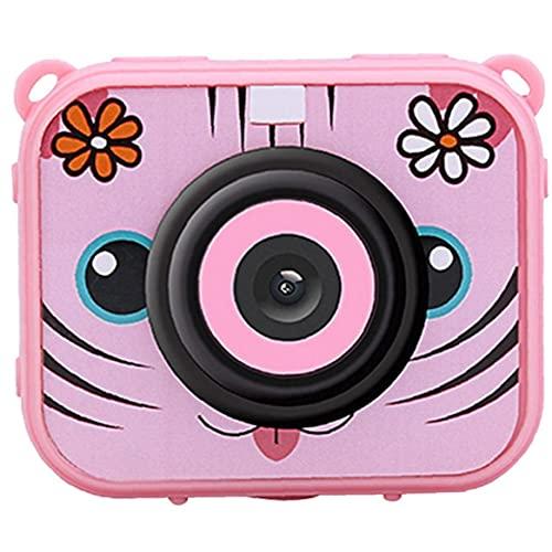 Liadance Niños Niños cámara Impermeable cámara de vídeo de Alta resolución HD 1080P se Divierte la cámara con el Casco del Montaje por grabadora DVR Niñas Niños Rosa