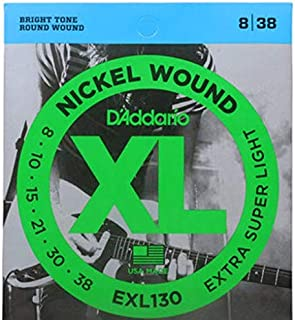 D'Addario Electric Guitar Strings XL Nickel Wound EXL130 Daddario