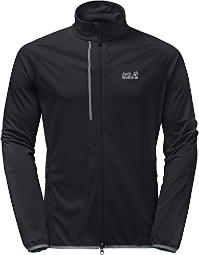 Jack Wolfskin Mens Cusco Trail Lightweight Breathable Softshell Jacket
