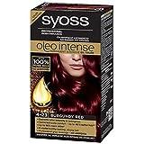 Syoss Oleo Tinte Intenso Color Cabello 100% Aceites Puros 0% Amonia 4-23 Borgoña Rojo