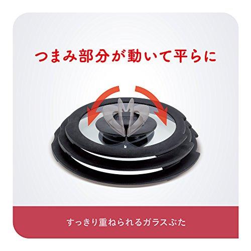 ティファールフライパン鍋6点セットIH対応「インジニオ・ネオIHルビー・エクセレンスセット6」チタンエクセレンス6層コーティングL66391取っ手のとれるT-fal