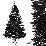 Creativery Árbol de Navidad negro 180 cm