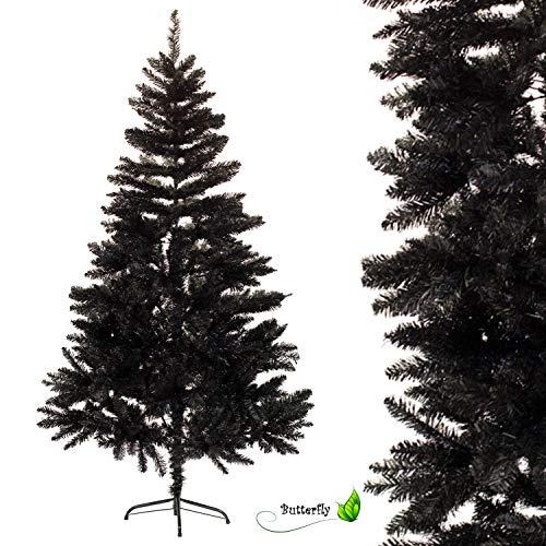 Creativery - Albero di Natale, Colore: Nero