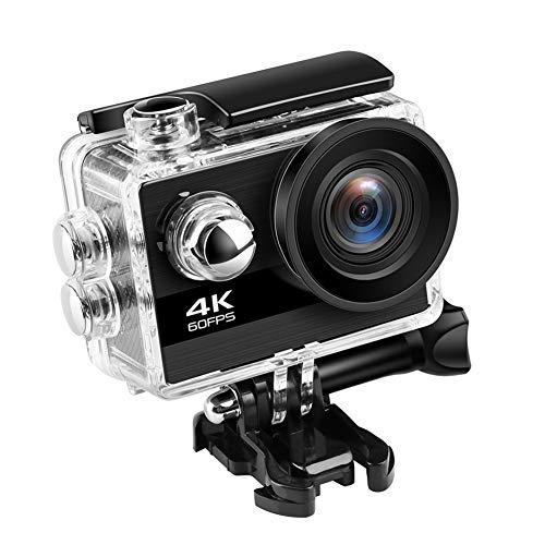 BOINN Videocamera 4K Action Camera Ultra HD 60Fps 24MP WiFi Sport Camera Schermo IPS da 2.0 Pollici 170D Videocamera Sportiva Impermeabile Wide Angel