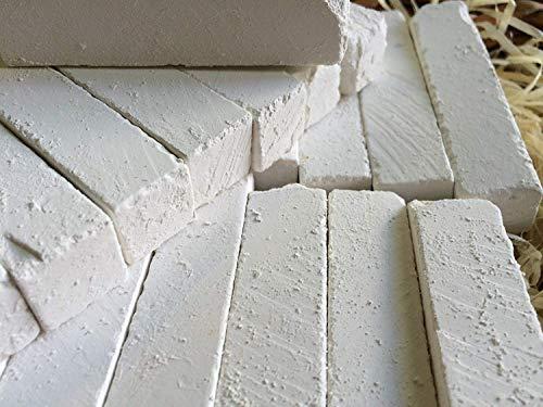 UCLAYS Sawn BELGOROD, Belgorod-Kreide gesägt, Essbare Kreide Brocken (Klumpen) Natürlich für das Essen (Essen), 4 oz (110 g)