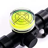 GHHJX Precision Scope Magnetic Level for Precison Shooting,Diameter 32mm (Yellow)