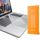 UPPERCASE GhostCover Premium Ultra Thin Keyboard Protector for MacBook Pro with Touch Bar 13' and 15' (2016 2017 2018 2019, Apple Model Number A1706, A1707, A1989, A1990, A2159)
