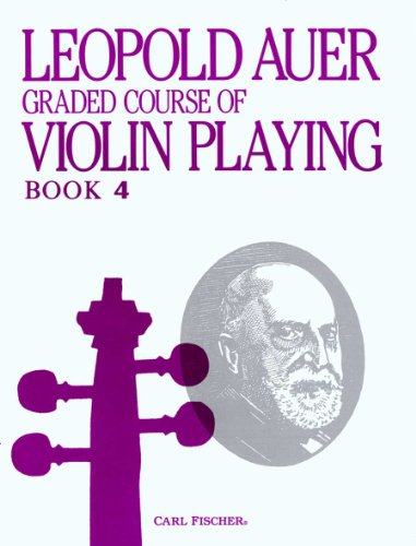 O1447 - Graded Course of Violin Playing - Bk. 4 (VIOLON)