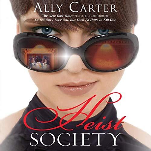 Heist Society audiobook cover art