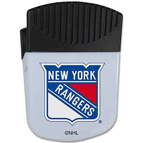 NHL Siskiyou Sports Fan Shop New York Rangers Chip Clip Magnet with Bottle Opener Single Team Color