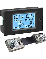 KETOTEK Spanningstransformator meter Shunt vermogenstester energiemeter digitale DC voltmeter voltmeter volt ampère multimeter LCD spanningsmeter