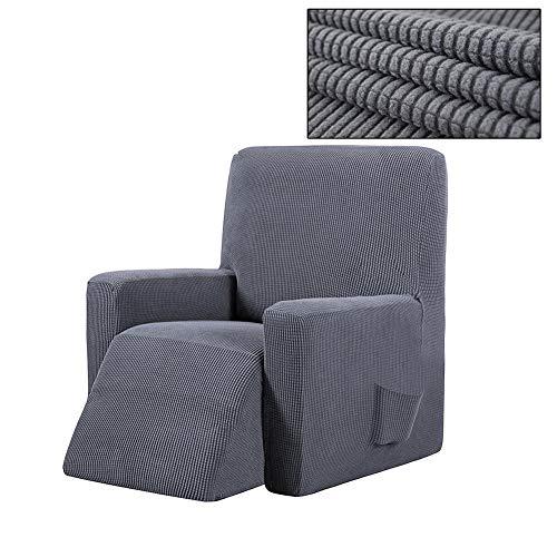 winnerruby Funda para sillón Wingback Chair, Impermeable, elástica, Funda para sillón