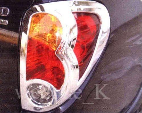 K1AutoParts Chrome Rear Tail Light Taillight Lamp Cover Trim For Mitsubishi L200 Triton Animal Pickup 2006 2007 2008 2009 2010 2011 2012 2013 2014