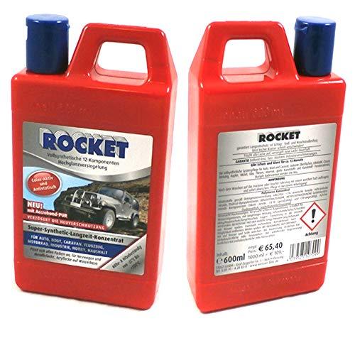 Rocket Auto Politur für alle Fahrzeuge Hochglanz Inhalt 600ml