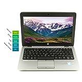 HP Elitebook 820 G1 31,75 cm 12,5 Zoll WXGA | Leistungsstarker Laptop |Intel Core i5 2X 1.9GHz 8GB RAM 256 GB SSD Win 10 Home Tastatur DE | 1,33 kg schwatz/Silber (Generalüberholt)