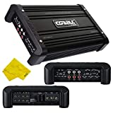Orion Cobalt 4 Channel Amplifier – Class A/B Multichannel Amplifier 1250W RMS 2500W Max, Car Electronics Car Audio Stereo Subwoofer 2 Ohm Stable Bass Boost MOSFET Amplifier for Car Speakers Sub Amp