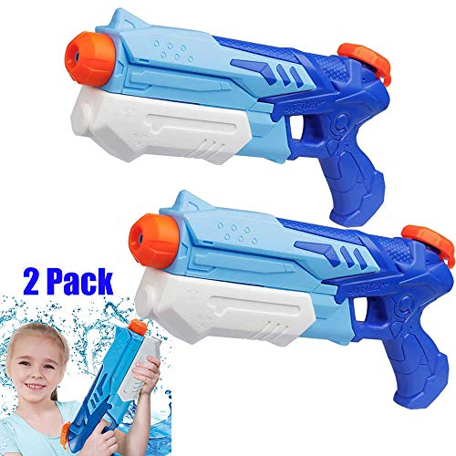 JUNBESTN Water Guns for Kids,Blaster Soaker Squirt Guns Summer Swimming Pool Beach Party Favors Water Outdoor Fighting Toy for Kids Adults Boy Girl(2Pack)