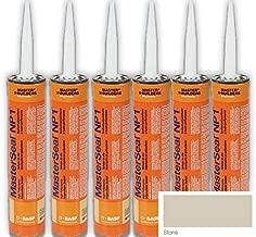 Masterseal NP-1 Stone Polyurethane Sealant Cartridge - 6 Pack