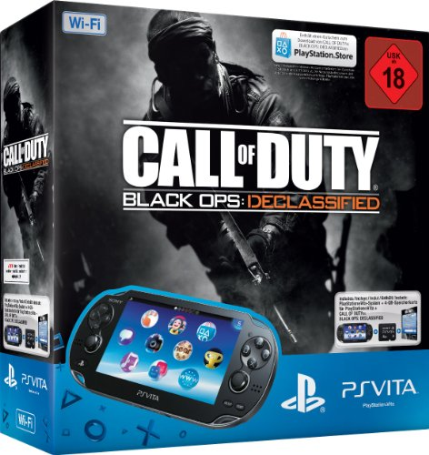 Sony PlayStation Vita (WiFi) inkl. Call of Duty: Black Ops Declassified (DLV) + 4 GB Memory