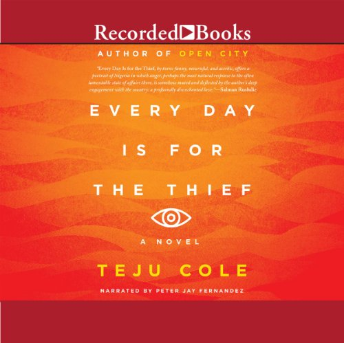 Every Day Is for the Thief audiobook cover art