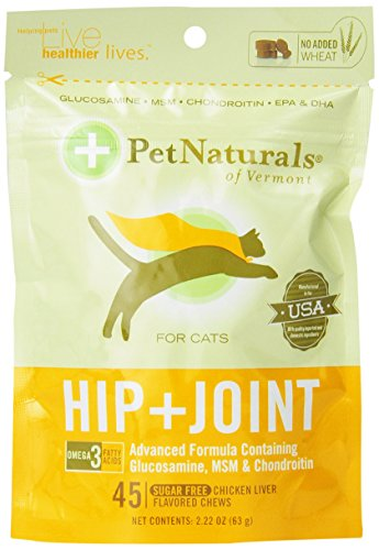 Pet Naturals Hip & Joint for Cats (45 count)