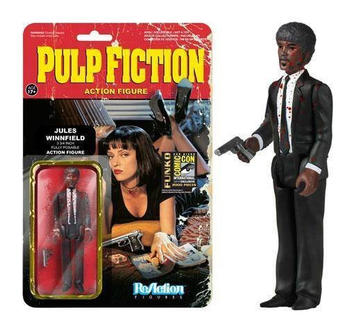 SDCC 2014 Pulp Fiction Jule Winnfield Bloody Variant Exclusive 3.75 Inch Figure Comic-Con 1
